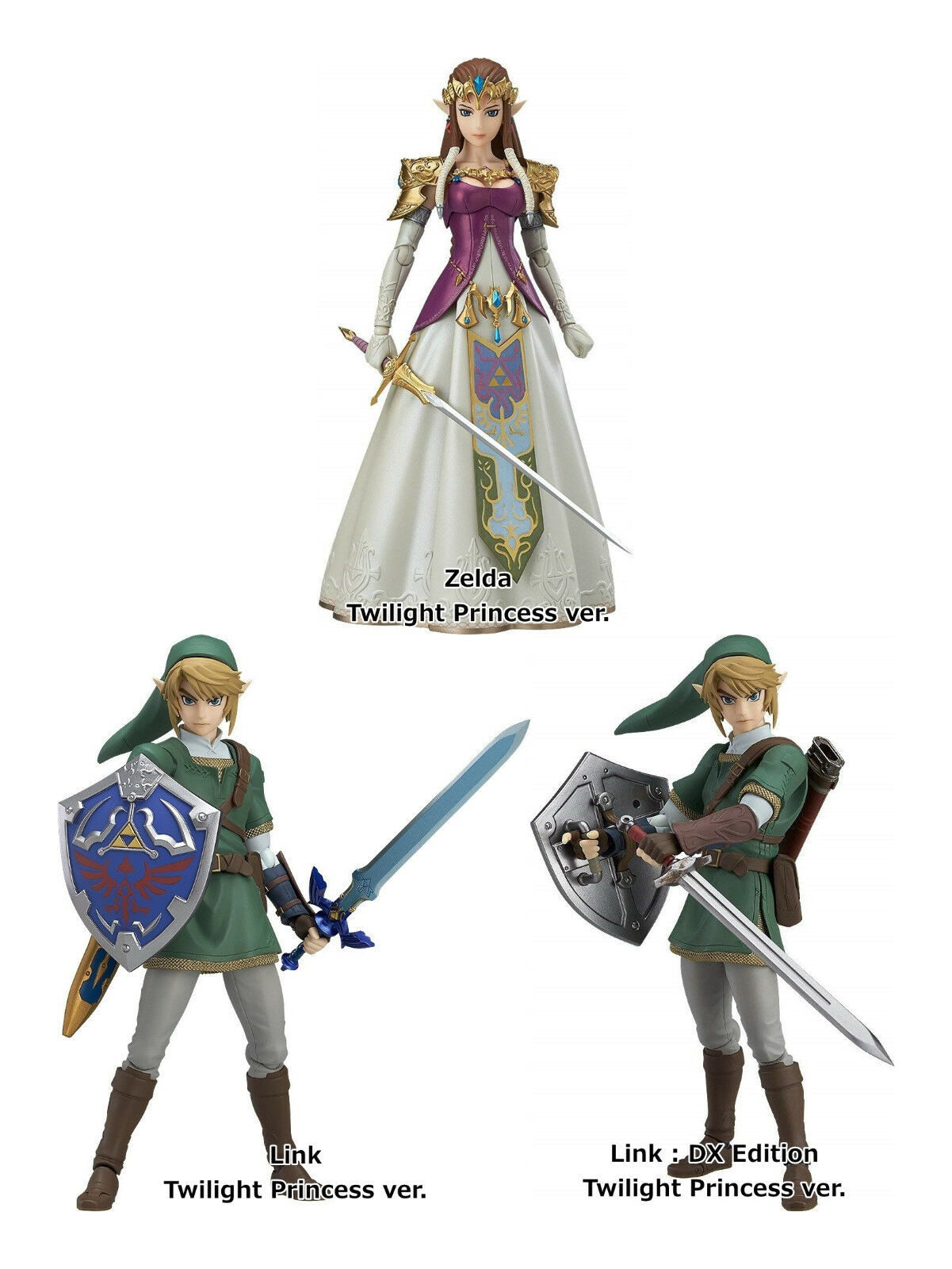 Figma The Legend of Zelda  Twilight Princess Link Good Smile Company from Japan
