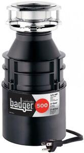 Image Is Loading Insinkerator Kitchen Garbage Disposal Badger 1 2 Hp
