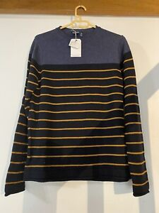 Pull Springfield Coton Taille S Neuf
