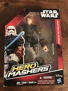 Star Wars Hero Mashers Anakin Skywalker Figurine Action Figure Hasbro New