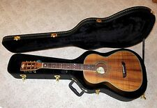 Washburn WP55NS Koa Guitar with HSC in Mint Condition