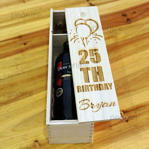 PERSONALIZED-Engraving-Bottle-Wooden-Wine-Box-Birthday-Wedding-Anniversary-Gift