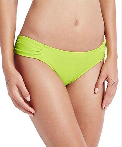 Ex M /& S Swimwear Bikini Bottoms Lime Green Brazilian Sizes 8 16
