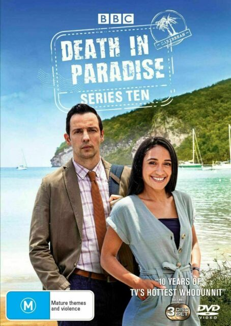 DEATH in Paradise Series 10 BRAND NEW Reg 4 DVD SEALED