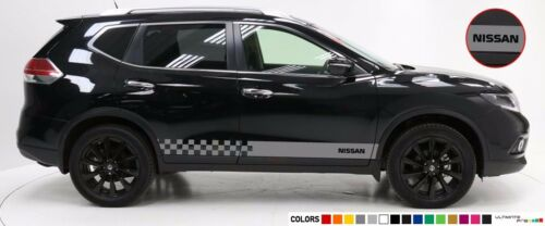 Decal sticker Stripe bar For Nissan T-trail 4x4 lift mirror crossover SUV side