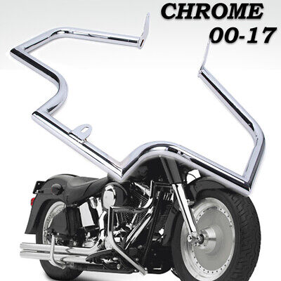 Krator Engine Guard Highway Crash Bar For Harley Davidson Custom Vehicle Operations Fat Boy FLSTFSE 2005-2005