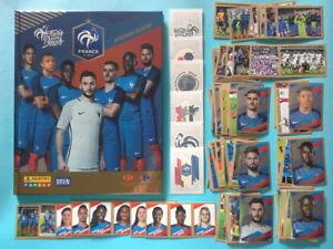 Fiers D Être Bleus Set Complet Panini family Carrefour Euro 2016 France