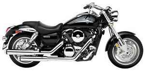 Kawasaki meanstreak 1600 1500 classic d e vulcan exhaust double eagles