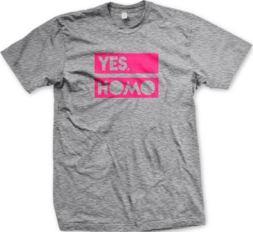 OUI homo gay Pride Homosexuel égalité LGBT de même Sexe amants T-shirt Homme