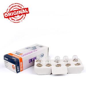 10X-OSRAM-24V-10W-BA15S-3200K-License-Plate-Feux-Antibrouillard-Lumiere-Ampoules