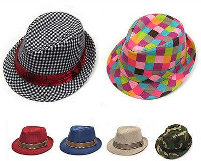 New Baby Boy Girl Jazz hat Topper Toddler Kids Children Cap Hats Size 2-5 years