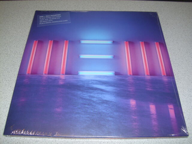 Paul McCartney - New -  LP 180g Vinyl & MP3 /// Neu & OVP /// Gatefold Sleeve