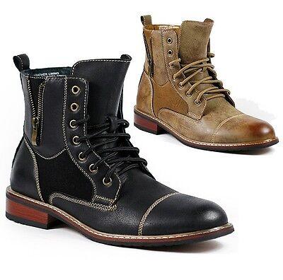 Ferro Aldo Men's Military Combat Work Desert Ankle Boot MFA-808561