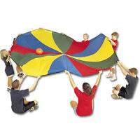 Us Games Deluxe 12' Parachute W/ 12 Handles on sale