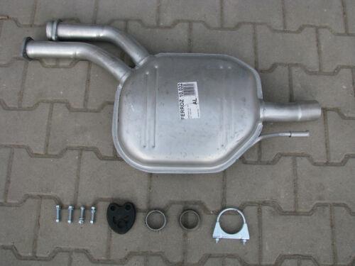 Auspuff Mercedes E-Klasse Kombi Stufenheck  W124 S124 Mittelschalldämpfer F111