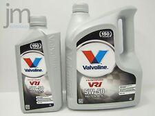 5 Liter VALVOLINE VR1 RACING 5L Motoröl Öl SAE 5W-50 Rally Oil [4L + 1L]