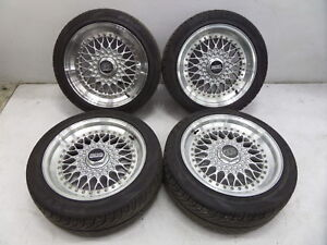 BBS-RS-16-034-7-034-8-034-Wheels-BMW-E30-E36-M3-E34-M5-E28-E38-E24-M6-5-120-No-Tires