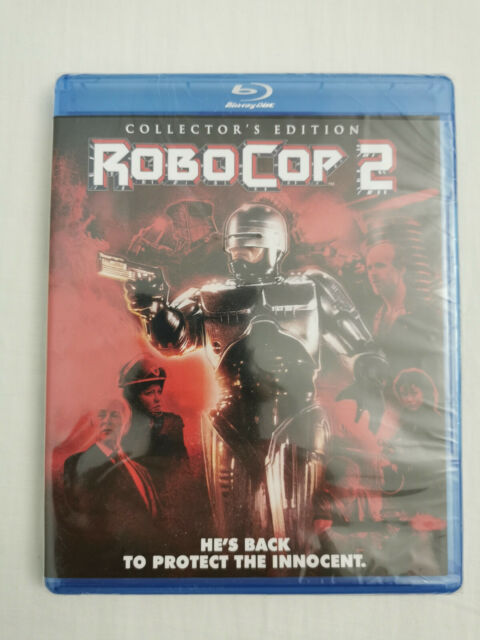 RoboCop 2  Collector's Edition Blu-ray (Region A) Import