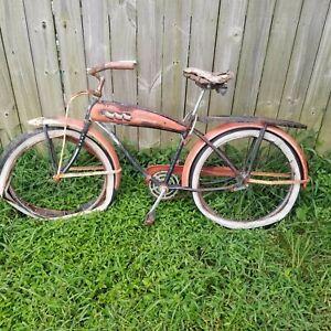 Vintage-JC-HIGGINS-MANIFOLD-BIKE-1950-Hard-to-find