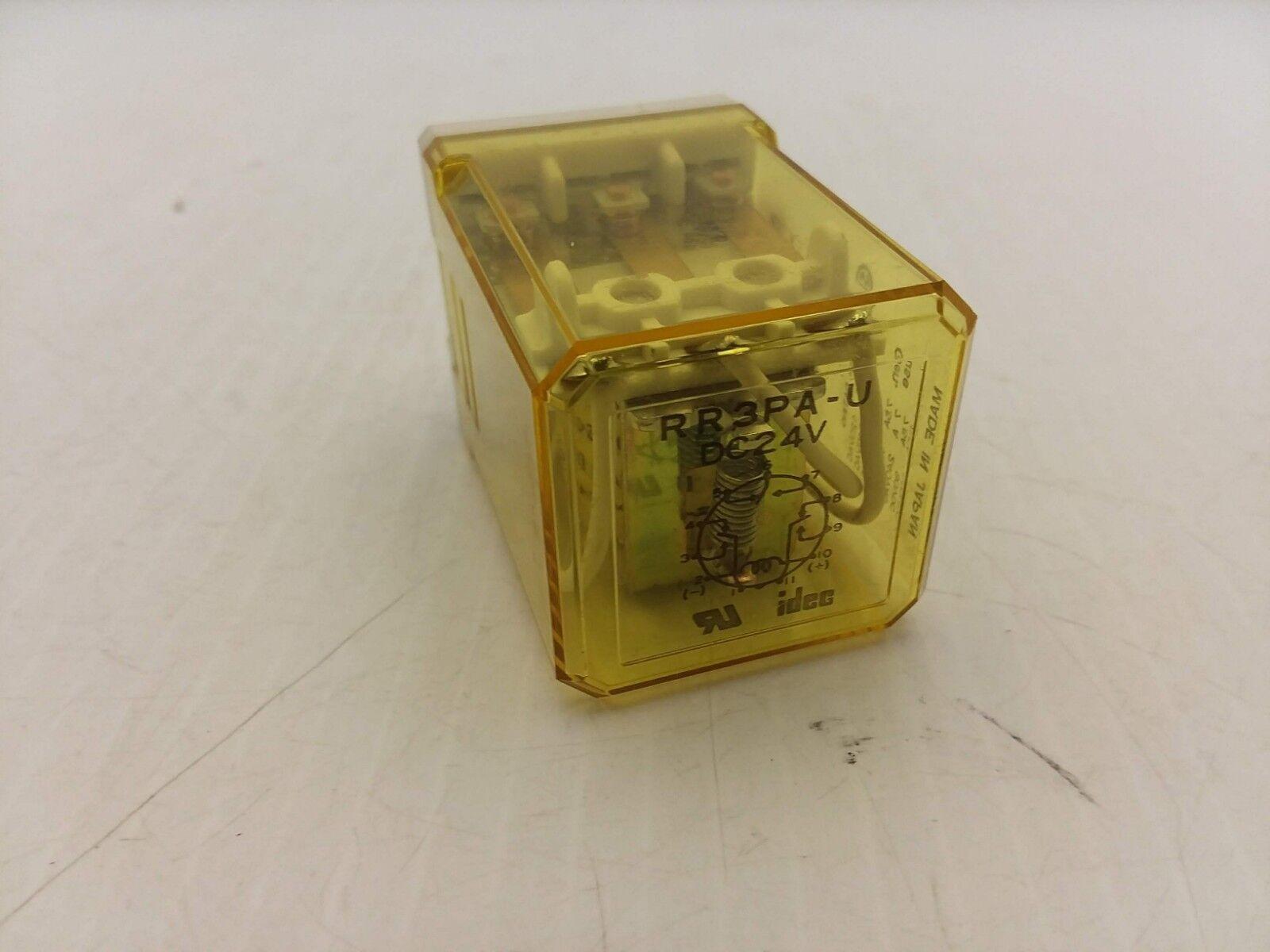 IDEC Rr3pa-u Dc24v Plug in Relay   eBay on