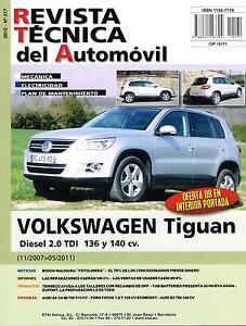 manual de taller volkswagen tiguan diesel 2 0 tdi 136 y 140 cv rt217 rh ebay es manual instrucciones tiguan 2014 manual instrucciones vw tiguan