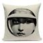 thumbnail 14 - Fornasetti Style Pillow Case Cover Sofa Home Textile Vintage Cushion Linen Decor