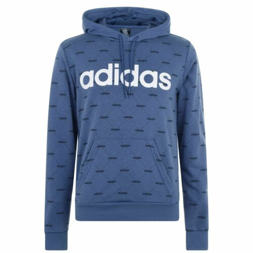 Mens adidas All Over Printed Hoodie OTH Long Sleeve New