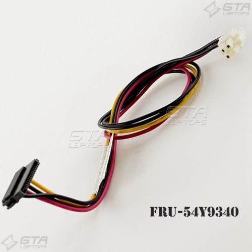 Lenovo ThinkCentre Series 4Pin SATA Power Cable FRU-54Y9340