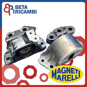 N/° 3 Supporti Motore Grande Punto 1.3 Multijet 55 Kw 75 Hp