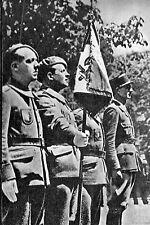 WW2 - La Garde au Drapeau de la Légion des volontaires français  (LVF)