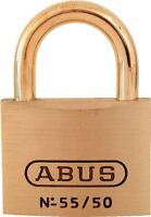 Abus 55mb/50 C Kd 2-inch All Weather Solid Brass Keyed Different Padlock With Br on sale