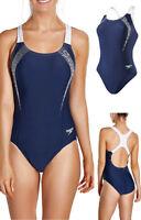 Speedo Endurance 10 Medalist Training Supportive Swimming Costume Swimsuit