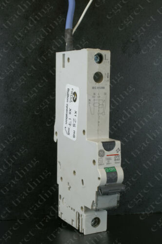 GE DPE DPE100 30mA RCBO Circuit Breaker NEW