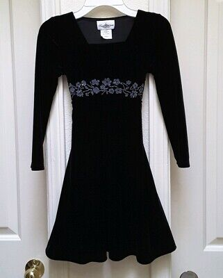 Rare Editions Big Girl/'s Blush Sparkle Fit /& Flare Fanciful Dress-Size-7 or 10