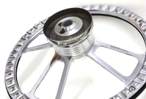 Sky Blu... New World Motoring 1978-1980 Malibu Steering Wheel Billet Aluminum