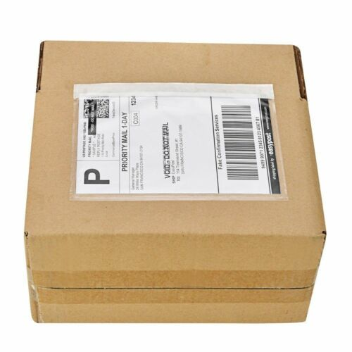 """30 Pcs Shipping Label Pouch 7/"""" x 9,5/"""" Packing List Clear Invoice Slip Envelope"""