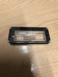 BMW-MINI-R50-R53-NUMBER-PLATE-LIGHT-LENS-GENUINE-PART