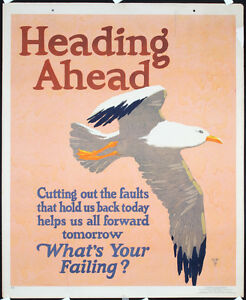 Original-1929-Mather-Work-Poster-Chicago-Heading-Ahead-Lot-200