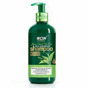 WOW Skin Science Green Tea & tea Tree Anti-Dandruff Shampoo 300ml
