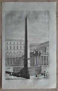 Jacopo-AMIGONI-1682-1752-Original-Kupferstich-Anno-1739-Italien-Rom-Antike-62
