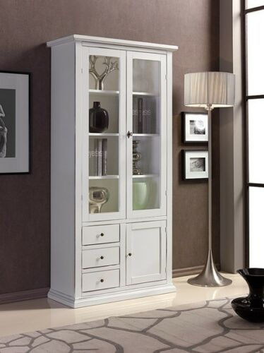 Showcase 3 door 3 Drawer Lacquered