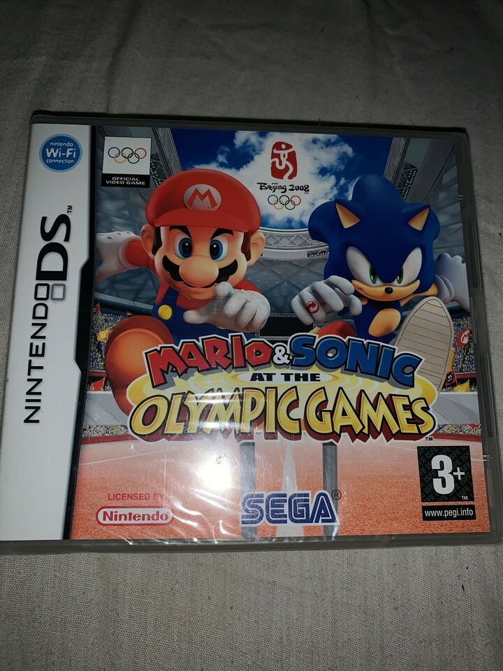 mario & sonic at the olympic games 2008, Nintendo DS, sport