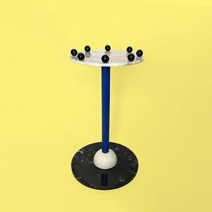 Pied-Gueridon-Annees-80-Dlg-Sottsass-Post-Moderniste-Memphis-Milano-side-Table