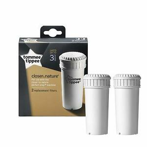 Tommee Tippee Perfect Prep Baby Bottle Machine Filters Pack of 2 Closer Nature