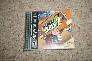 Street-Sk8er-2-Playstation-PS1-Video-Game-Complete-CIB-VERY-Fast-Ship-Worldwide