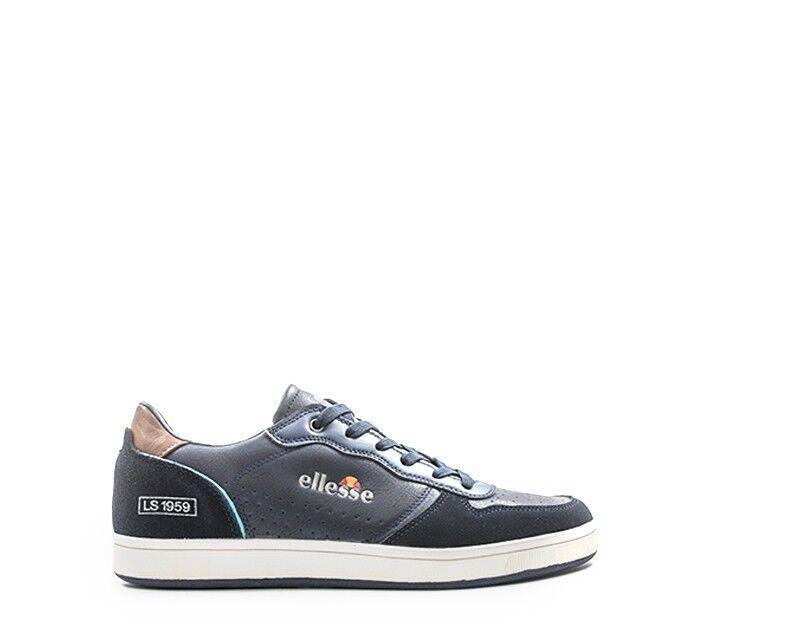 Schuhe ELLESSE Mann BLU Naturleder,PU EL814417-03M