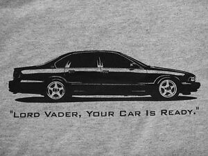 Details about IMPALA SS T-Shirt 1994, 1995, 1996 Chevy Caprice 9C1