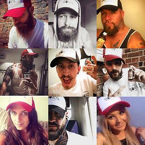 Bobo-039-s-Beard-Company-lightly-distressd-trucker-cap-hat-baseball-men-039-s-gift