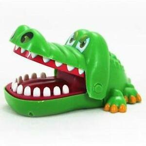 Krokodil-Spielzeug-Kroko-Mund-Zahnarzt-Biss-Finger-Mechanisches-Reaktionsspiel-A