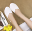 Women Casual Round Toe Flats Slip On Comfort Breathable Oxford Lady Flat Shoes